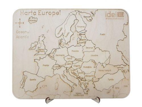 Puzzle-Harta-Europei-lemn