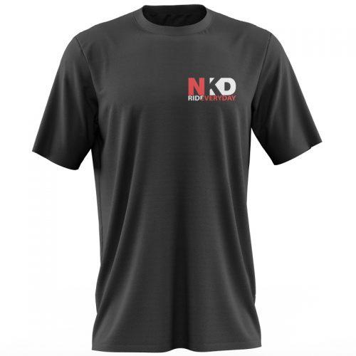 Tricou negru NKD fata